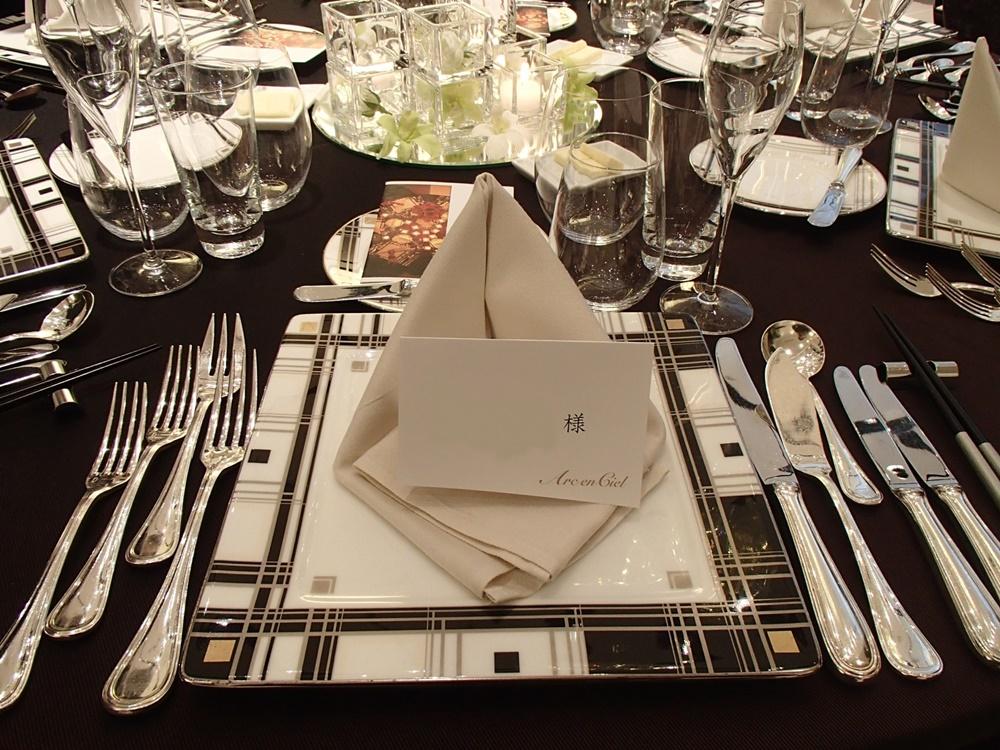 テーブルコーディネート 披露宴